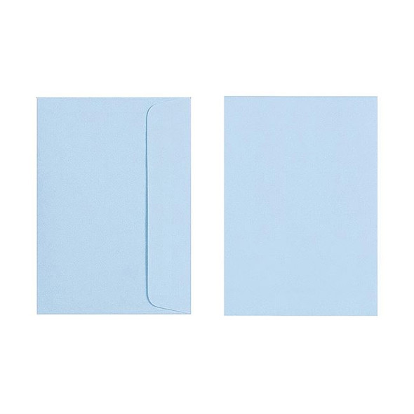 Quill C6 Envelope 80gsm Pack 25 - Powder  Blue