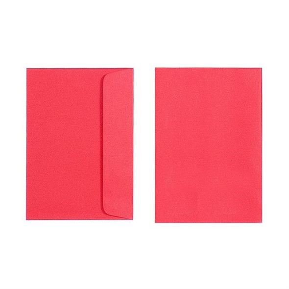 Copy of Quill C6 Envelope 80gsm Pack 25 -  Red