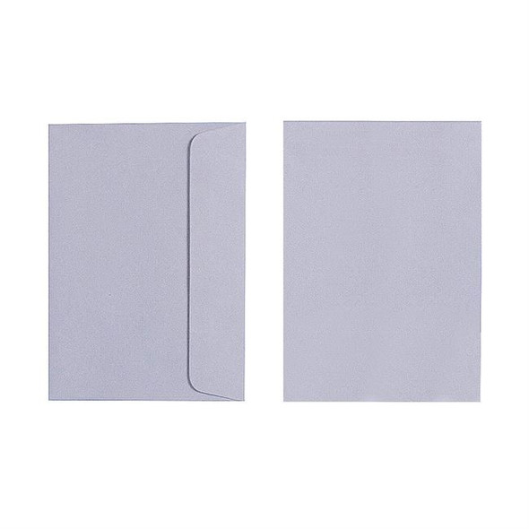 Quill C6 Envelope 80gsm Pack 25 - Grey