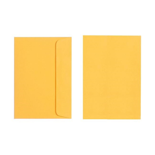 Quill C6 Envelope 80gsm Pack 25 - Sunshine