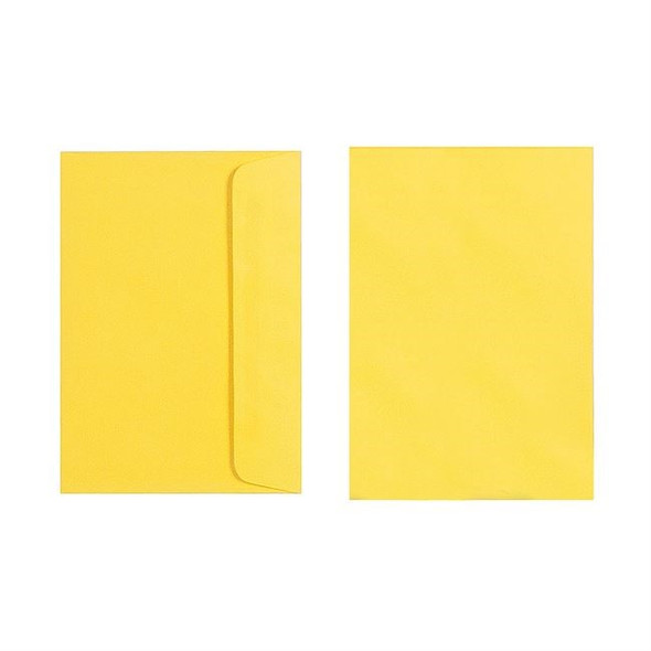 Quill C6 Envelope 80gsm Pack 25 - Lemon