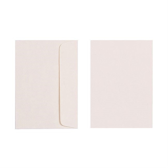 Quill C6 Envelope 80gsm Pack 25 - Cream
