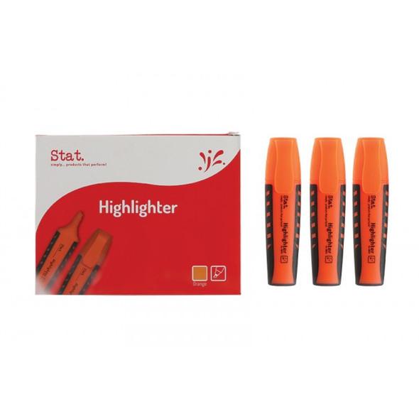 Highlighter STAT Orange Box 10