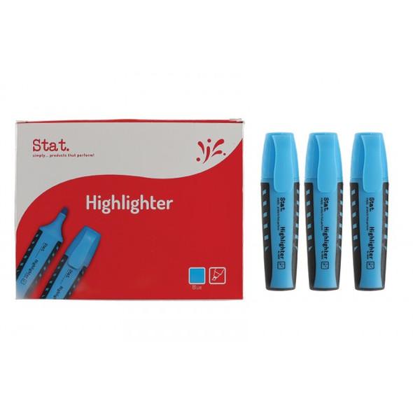 Highlighter STAT Blue Box 10