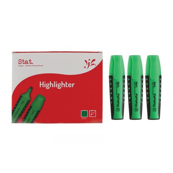 Highlighter STAT Green Box 10
