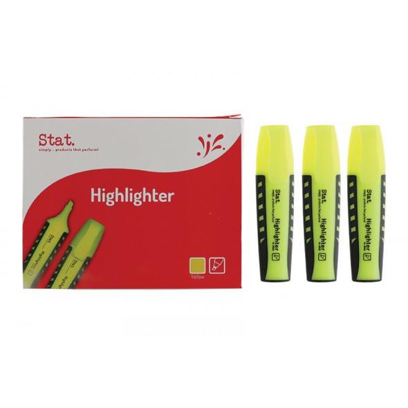 Highlighter STAT Yellow Box 10