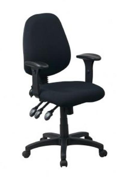 Sylex Pump Task Office Chair Black