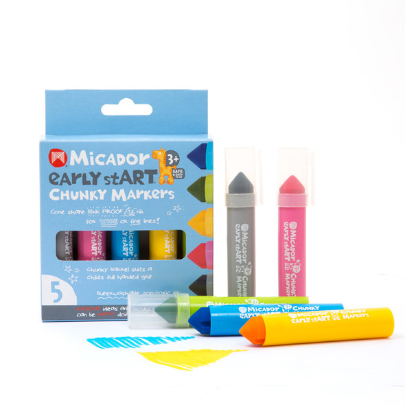 Micador Early Start Chunky Markers Pack 5