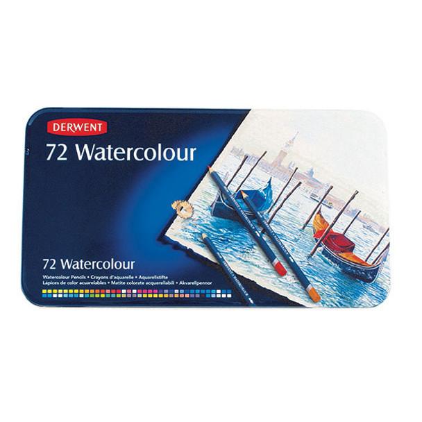 Derwent Watercolour Pencils 72 Tin Pack