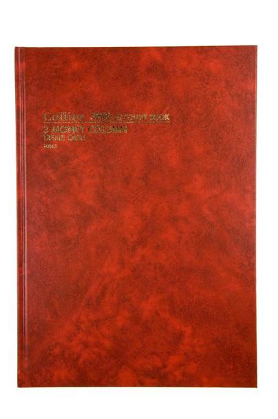 Collins Account Book A3880 3 Money Column