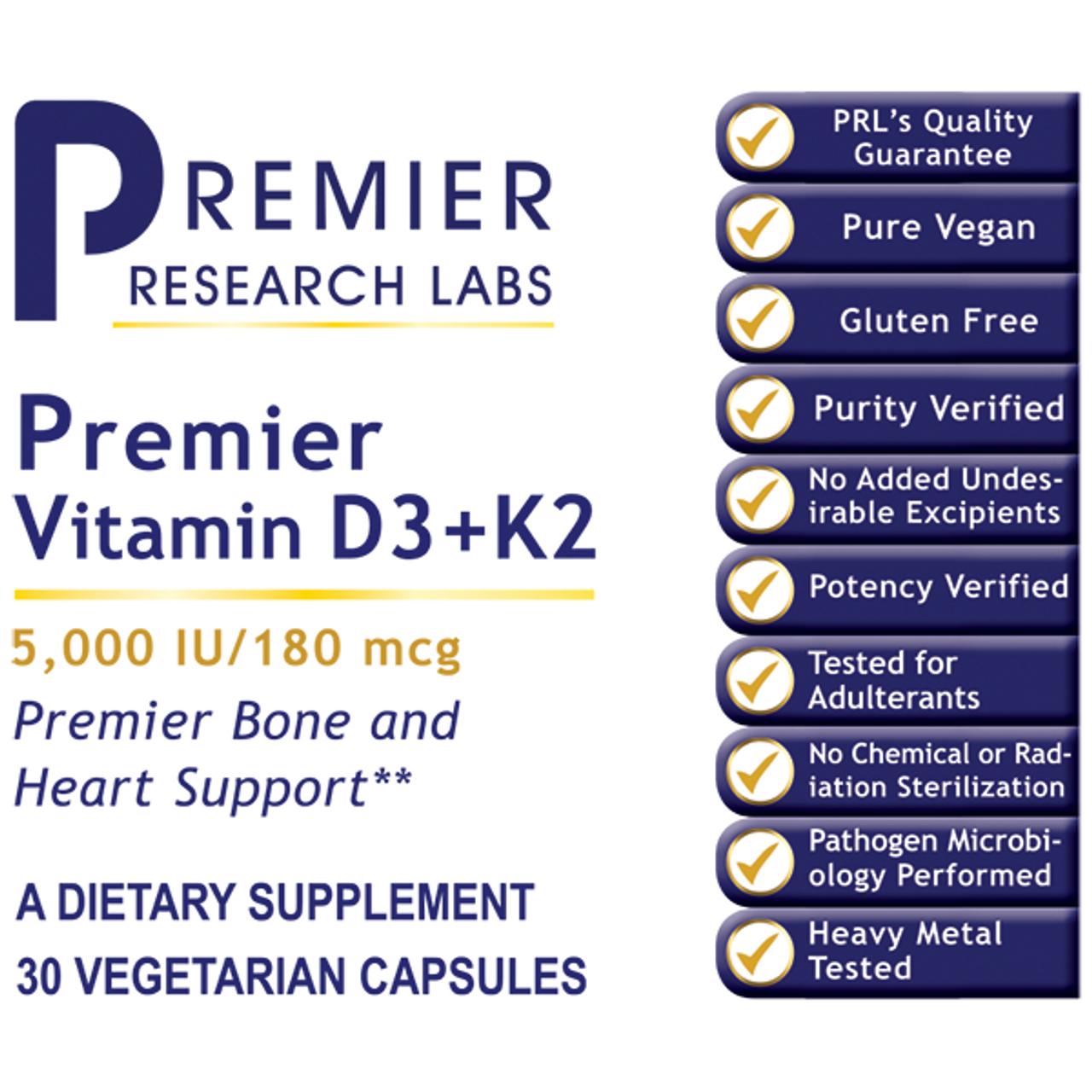Premier Vitamin D3+K2