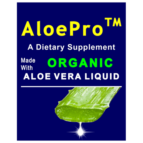 AloePro 16oz (473ml) Organic Aloe Liquid