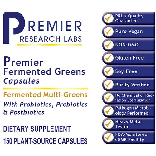 Fermented Greens, Premier