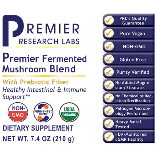 Fermented Mushroom Blend, Premier