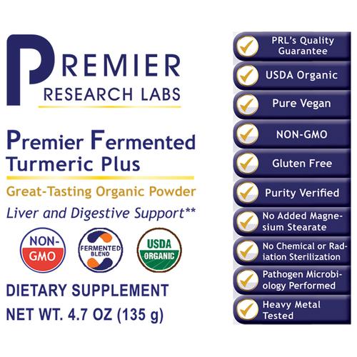 Fermented Turmeric Plus, Premier