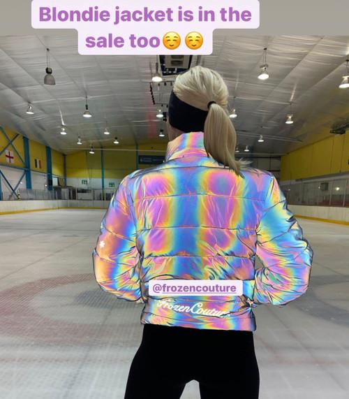 Blondie Reflective Puffer Jacket