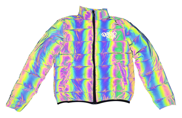 Roller Couture Reflective Puffer Jacket
