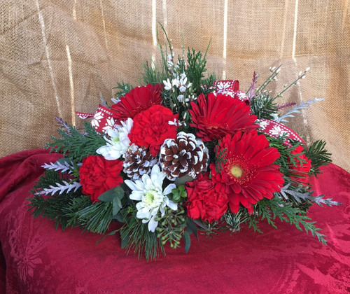 Red Delight Centerpiece