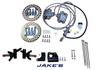 E-Z-GO G&E Med/TXT Hydraulic brakes (Non-lifted) 1994-01
