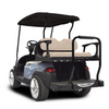Genesis 300 Aluminum Golf Cart Rear Seat Kit with Tan Cushion Set For EZGO TXT
