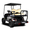 Genesis 250 Golf Cart Rear Seat Kit w/ Deluxe Tan Cushion Set will fit EZGO TXT
