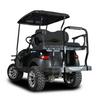 Genesis 250 Golf Cart Rear Seat Kit w/ Black Cushion For Club Car Precedent