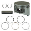 Piston and Ring Assembly, .50mm, Yamaha G22, G29 Gas 03+