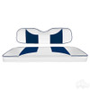 Club Car Precedent RHOX Rhino Seat Kit, Rally White/Blue