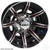 RHOX Color Wheel Insert, Burgundy, Bag of 8 for RX150 Series Wheels