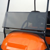 """Club Car Precedent Windshield, Impact Modified 1/4"""" Tinted, 2 Piece"""