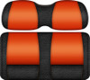 Double Take Veranda Edition Golf Cart Seat Black-Orange