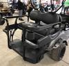 Doubletake MAX 6 HELIX Deluxe Golf Cart Black Rear Seat