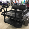 Doubletake HELIX Deluxe Golf Cart Rear Seat - Safety Bars