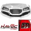 Yamaha G29/Drive 2007-2016 White HAVOC Street Body Kit