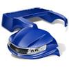 DoubleTake Phoenix Golf Cart Body Kit Blue