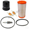 Club Car Precedent 4 Cycle Tune Up Kit w/Oil Filter, Starter & Drive Belts