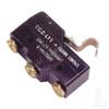 Micro Switch, 3 terminal, E-Z-Go Marathon Electric 90-94 w/ Solid State Controller