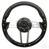 "Club Car Aviator 4 Black Steering Wheel 13"" Diameter"