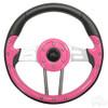 """Club Car Aviator 4 Pink Steering Wheel 13"""" Diameter"""
