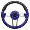"Club Car Aviator 4 Blue Steering Wheel 13"" Diameter"