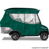 4 Passenger Enclosure Green with Valance