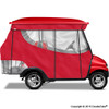 4 Passenger Enclosure Red