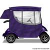 Doubletake 2 Passenger Golf Cart Enclosure Purple