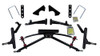 "Jake's Club Car DS 4"" Double A-arm Lift Kit (Fits 2004-Up) (7462) Golf Cart Lift kit"