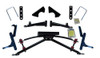 """Jake's Club Car DS 4"""" Double A-arm Lift (Fits 1982-2004.5 Electric & 1997-2004.5 ) (7460) Golf Cart Lift Kit"""