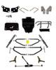 Jake's Club Car DS Long Travel Lift Kit (Fits 2004.5-Up) (6238) Golf Cart Lift Kit