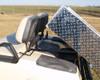 Club Car Precedent Aluminum Dump Box w/Hardware 37x45x9  Hand Operated Dump Box