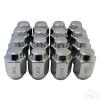 """Yamaha Lug Nut, BOX OF 16, Chrome Closed End Metric 12mm-1.25, OD 3/4"""""""