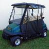 Odyssey Over the Top 3-Sided Enclosure for Club Car Precedent in Black