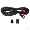 RHOX Wire Harness, High/Low Beam Push Button Control for RHOX LED Headlights